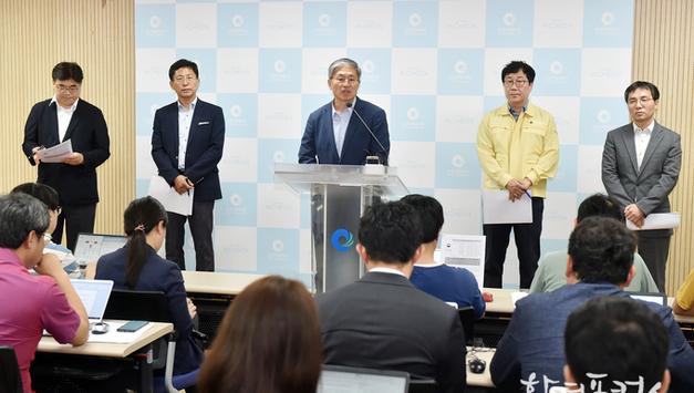 인천시 수돗물 사태 정부 합동 정상화지원반 운영