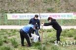 인천시, <안녕!'일상속 환경실천 자원봉사'함께할게> 사업 일환 나무심기 진행
